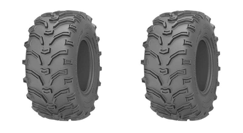 2 Tires KENDA K299 BEARCLAW 25X10-12