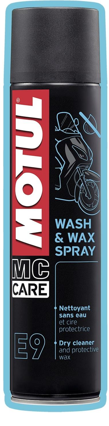 MOTUL - E9 WASH & WAX SPRAY - 4 00L US CAN