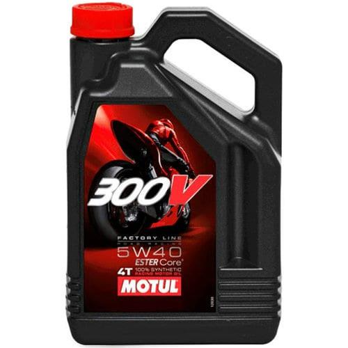 Motul 300V Synthetic Factory Line Road Racing Motorcycle Oil 104112 1 Liter
