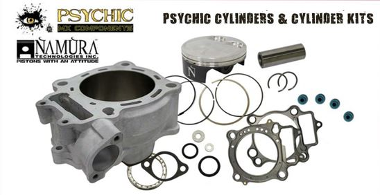 2005-2016 Honda CRF450R Psychic Cylinder Kit STD 96MM MX-09172K