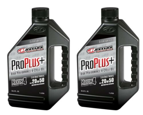 Qty. 2 of PRO PLUS+ 20W50 SYNTHETIC MAXUM4 SERIES 30-03901