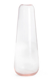 Aurora Slim Drop Vase Blush Hawkins New York