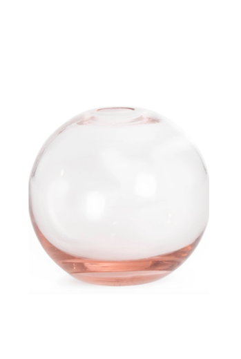 Aurora Sphere Vase Blush Hawkins New York