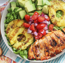 Grilled Chicken Chopped Summer Salad