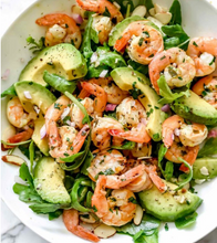 Citrus Shrimp & Avocado Salad