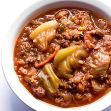 Unstuffed Cabbage & Pork Soup