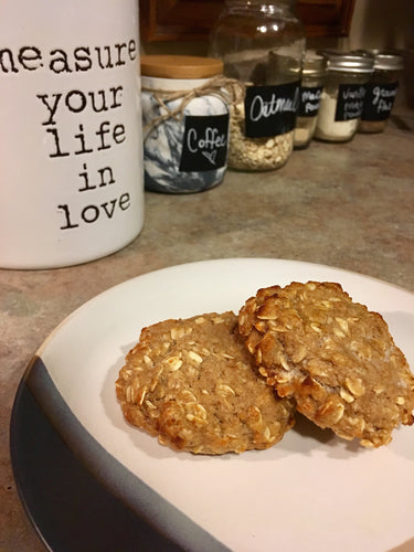 (low sugar) Applesauce Oats Breakfast Cookie