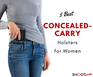 5 Best Concealed-Carry Holsters for Women