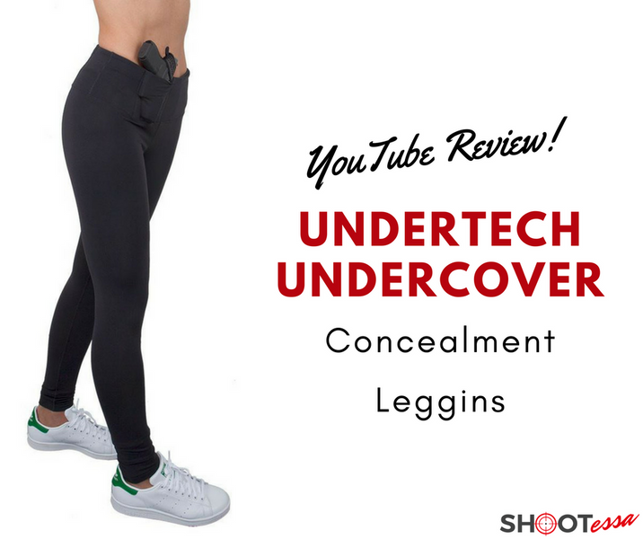 UnderTech UnderCover Concealment Leggings - Review, Trying On