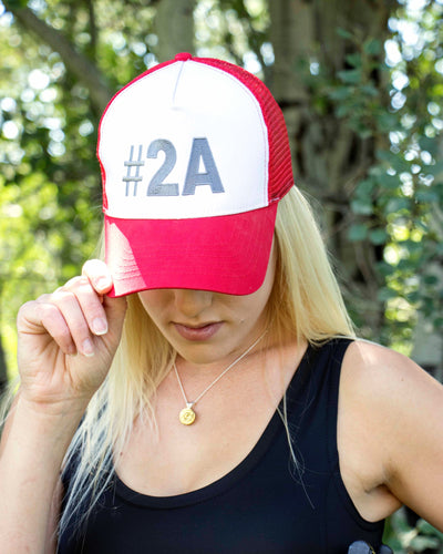 2ND AMENDMENT TRUCKER HAT by SHOOTessa