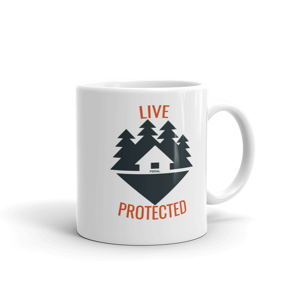 LIVE PROTECTED CABIN MUG - Made in the USA
