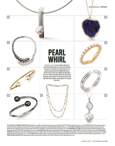 World of Pearls,  By Becky Stone - INSTORE Magazine, August 2018, pg. 27