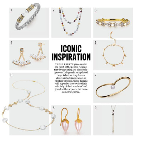 INSTORE Magazine, August 2017, pg. 23, Iconic Inspiration