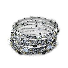 Kirsten Bangle - bracelet - KIR Collection - designer sterling silver jewelry