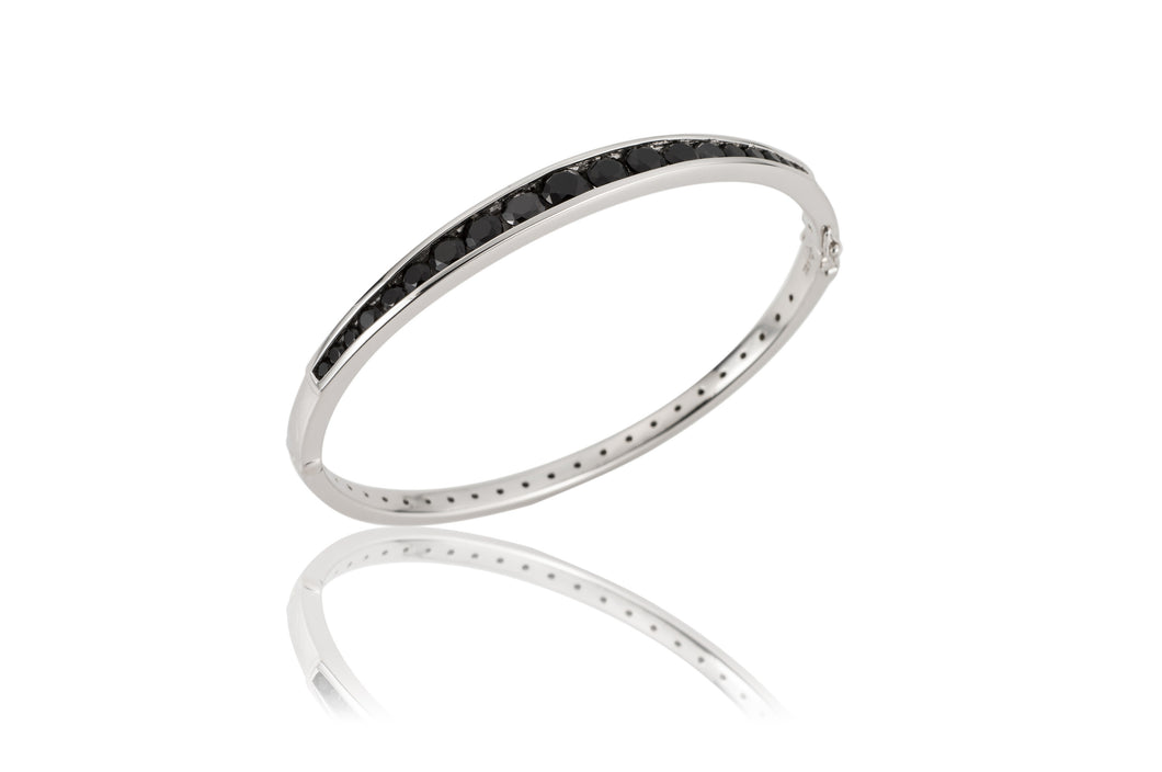 Channel Oval Bangle