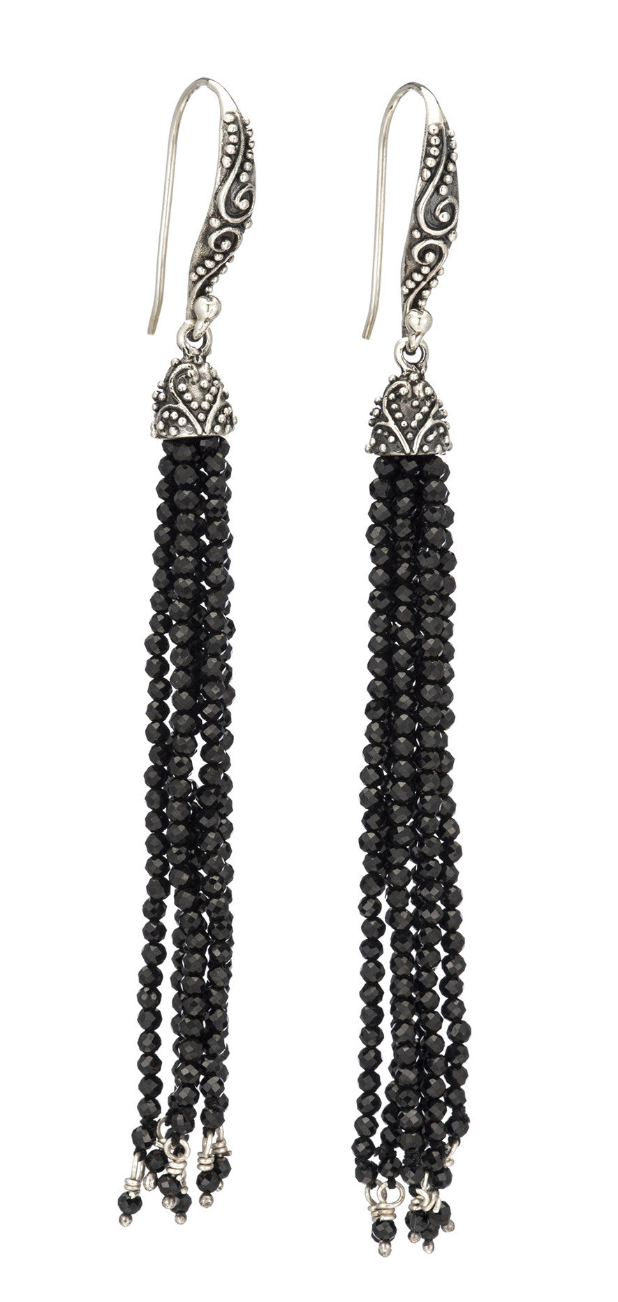 Beaded Tassel Earring