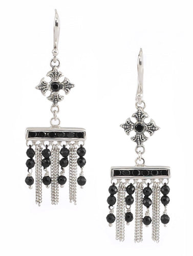 Latiffa Earring - earring - KIR Collection - designer sterling silver jewelry