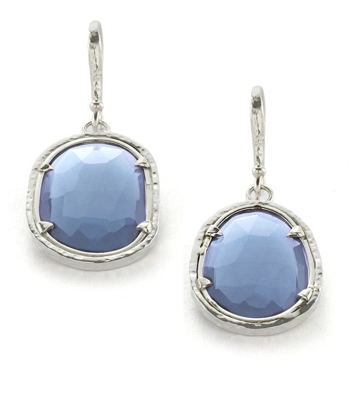 Polki Earring - earring - KIR Collection - designer sterling silver jewelry