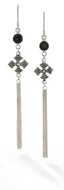 Pelangi Falls Earrings - earring - KIR Collection - designer sterling silver jewelry