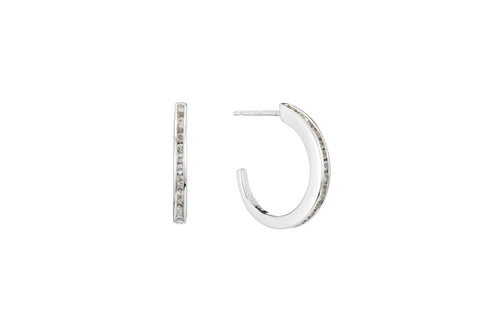 Channel Hoop Earring