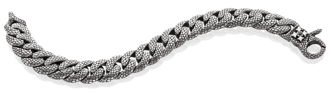 Georgie Curb Chain Bracelet - bracelet - KIR Collection - designer sterling silver jewelry