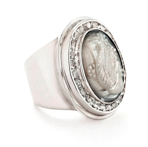 Andie Gem Ring - ring - KIR Collection - designer sterling silver jewelry