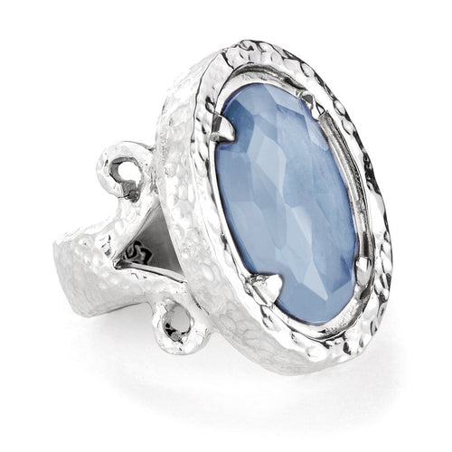 Polki Ring - pendant - KIR Collection - designer sterling silver jewelry