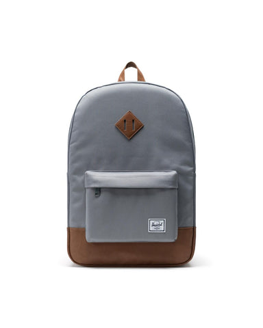 Herschel Heritage 600D Poly Grey/Tan Synthetic Leather