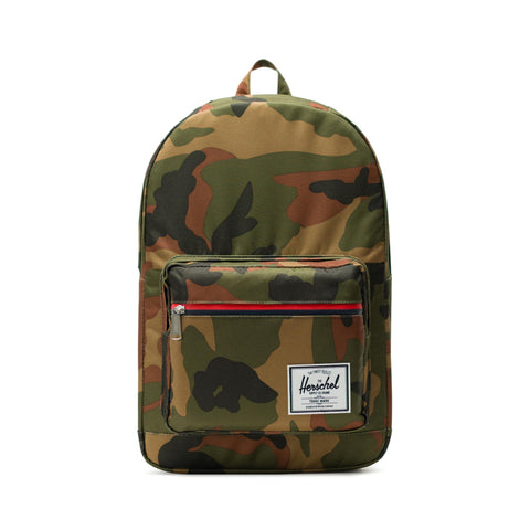 Herschel Pop Quiz 600D Poly Woodland Camo