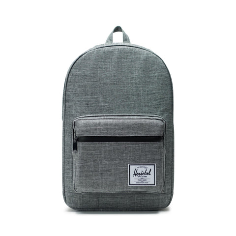 Herschel Pop Quiz 600D Poly Raven Crosshatch