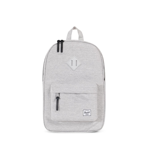 Herschel Heritage Mid 600D Poly Light Grey Crosshatch/Grey