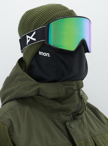 Anon M4 Cylindrical Goggle+MFI Black/Green