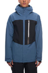 686 Glacier Gore-Tex GT Jacket Blue Steel Colorblock 2018/2019