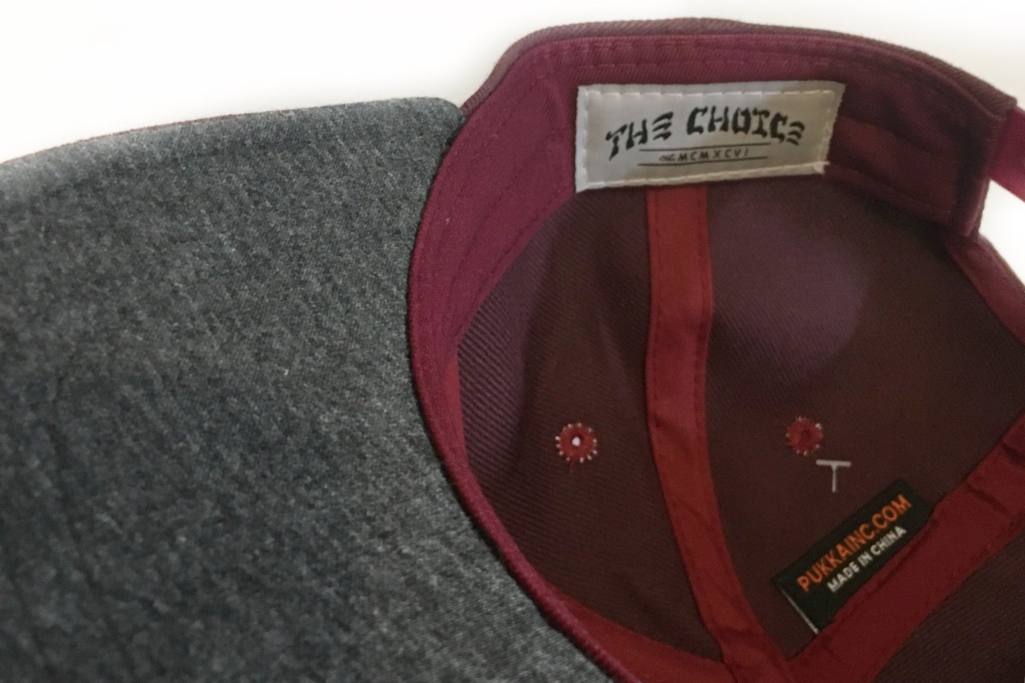 The Choice Kootenays' Finest Hat Burgundy