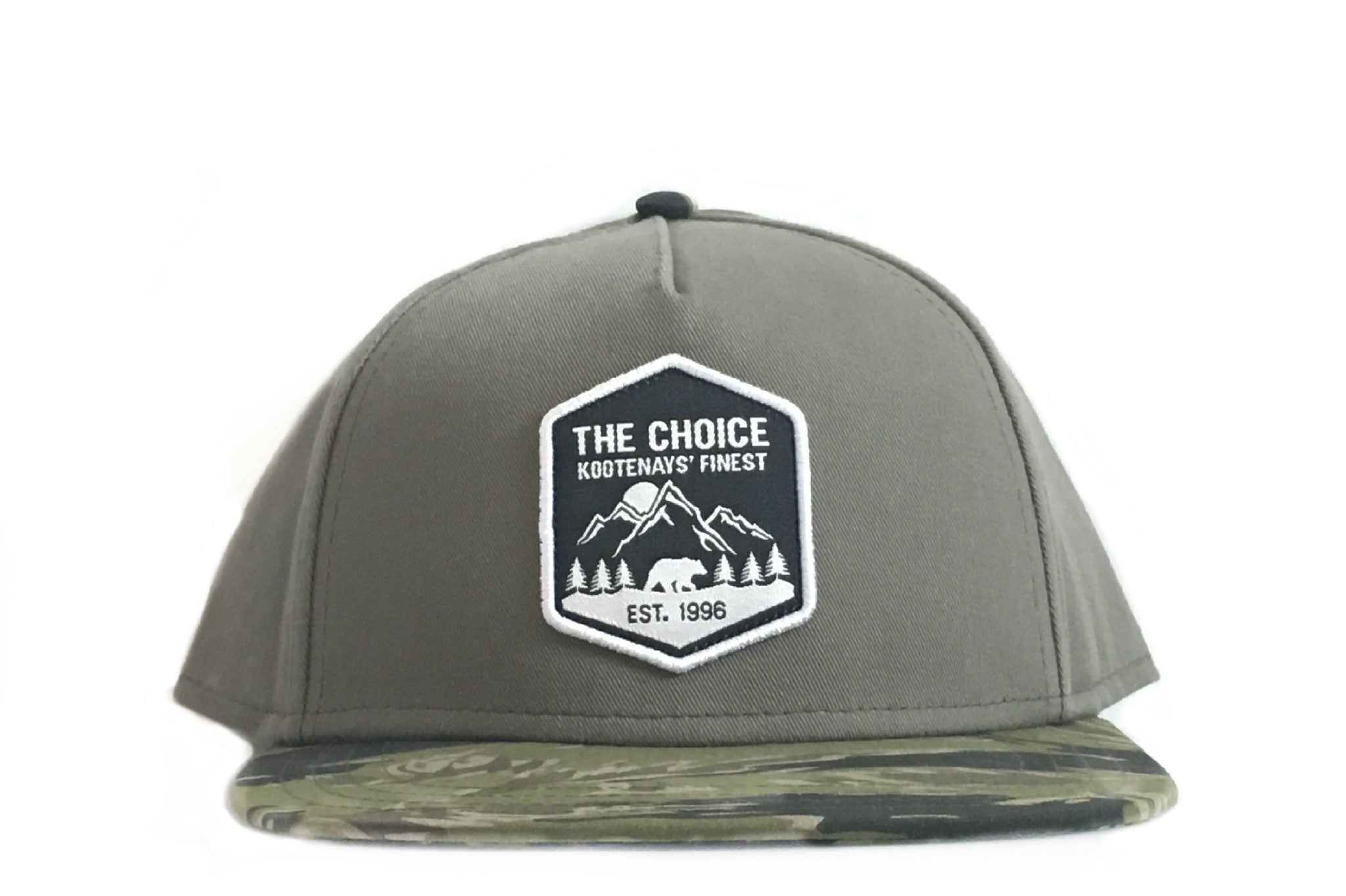 The Choice Kootenays' Finest Hat Green/Camo