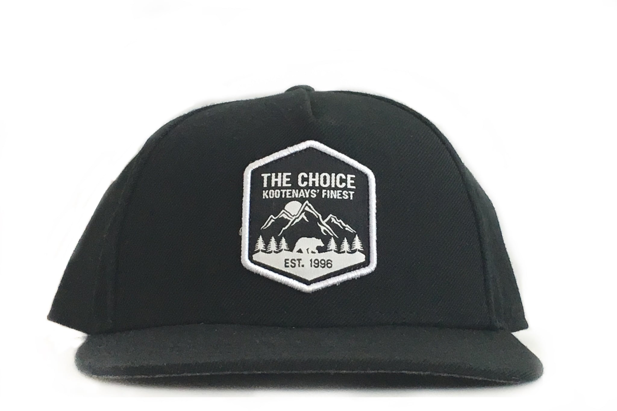 The Choice Kootenays' Finest Hat Black/Tropical