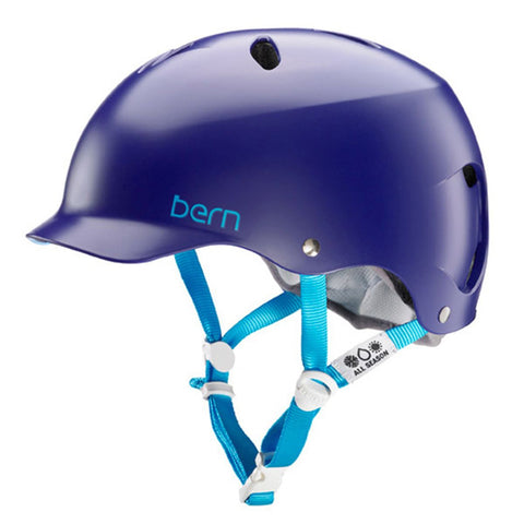 Bern Lenox Satin Midnight/White Helmet 2016/2017