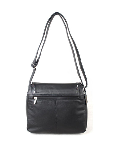 Chloe Women's Leather Crossbody Messenger Bag