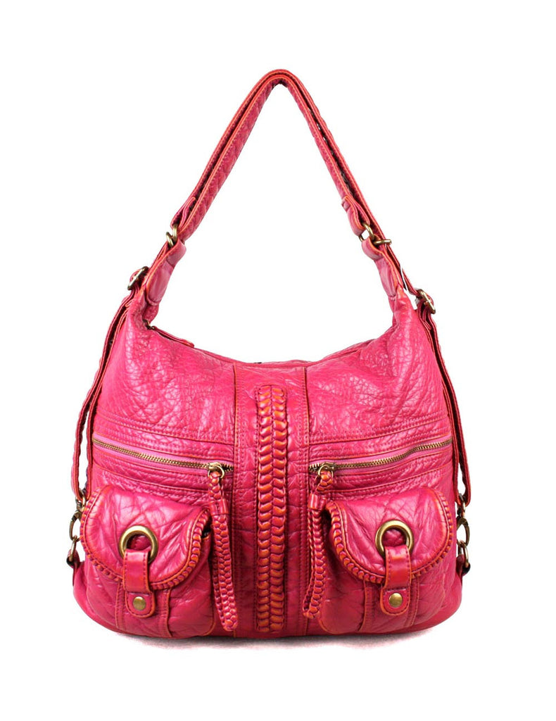 Rodeo Pre-Washed Women's 3 in 1 Hobo Bag