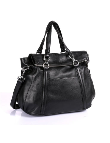 Irene Women's Prestige Leather Large Satchel Bag