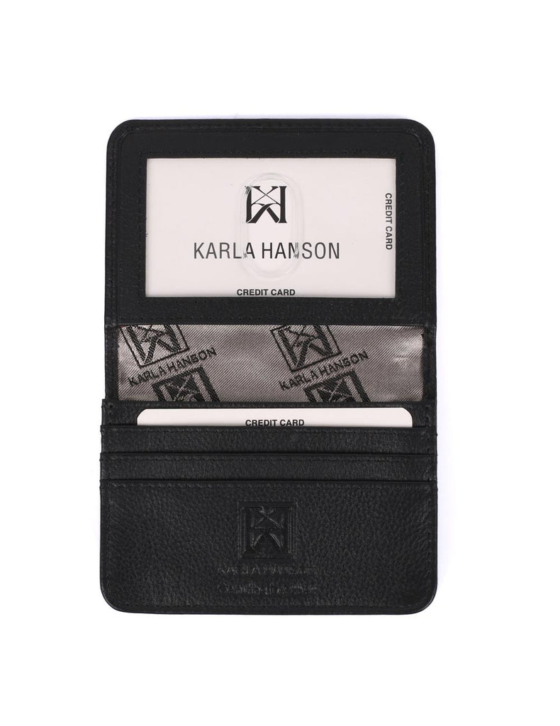 RFID Leather Card Holder Wallet