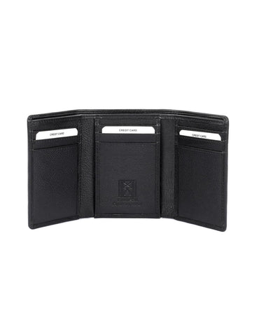 Men's RFID Leather Trifold Wallet