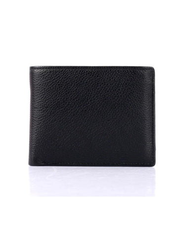 Men's RFID Leather Bifold Wallet with Top Card Holder Insert