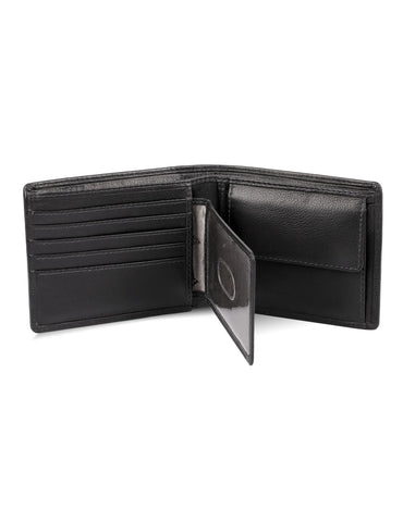 Martin RFID Leather Bifold Wallet with Coin Pocket
