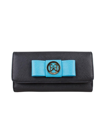 Caroline Women's Wallet with Bow