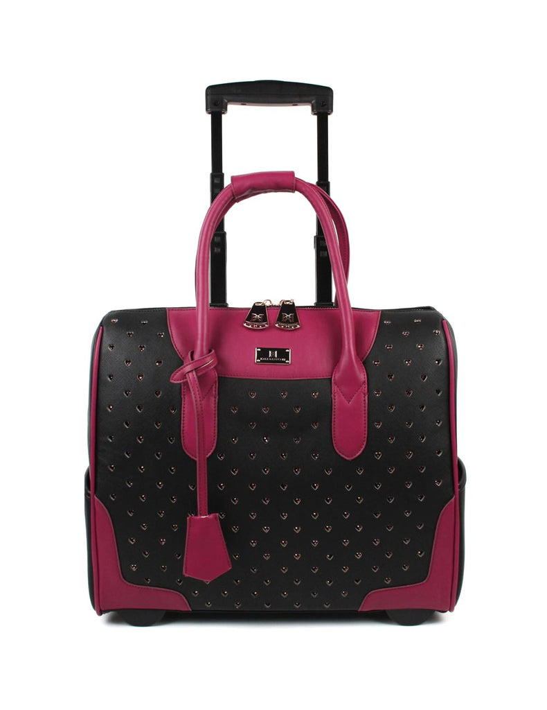Women's RFID Professional & Travel Trolley Rhinestones