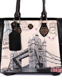 Women's RFID Bon Voyage Travel Trolley London Bridge