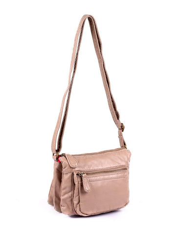Charlotte Pre-Washed Women's Crossbody Bag I More Colors