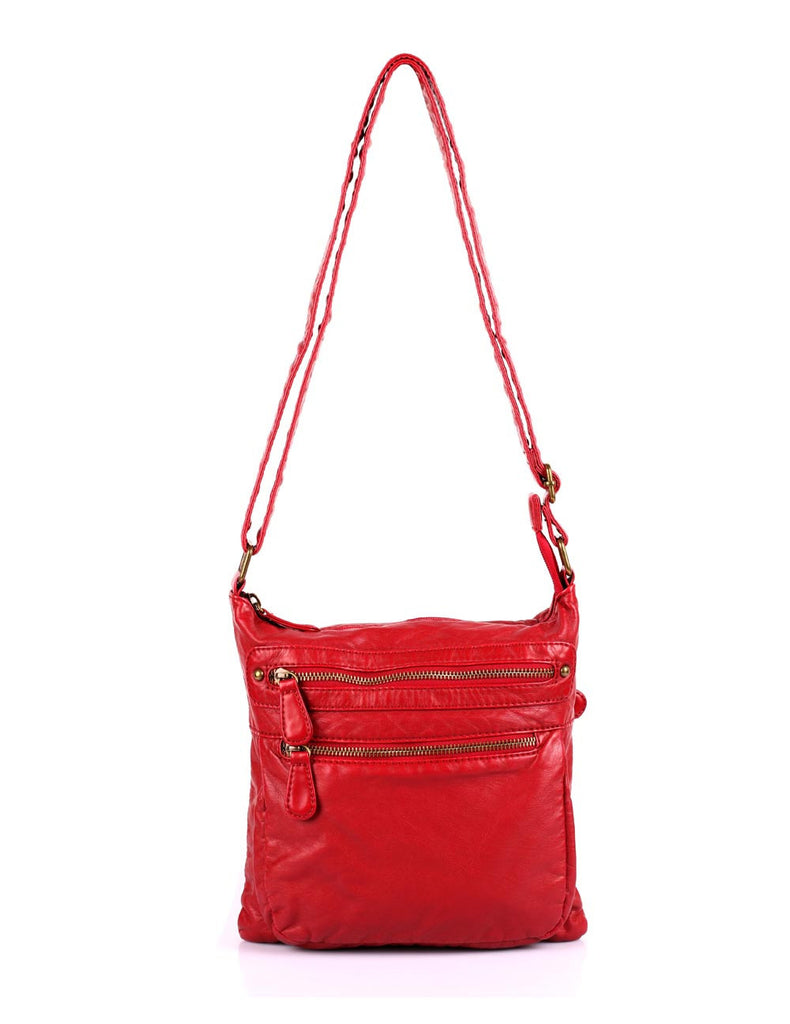 Charlotte Pre-Washed Women's Crossbody Bag IV More Colors