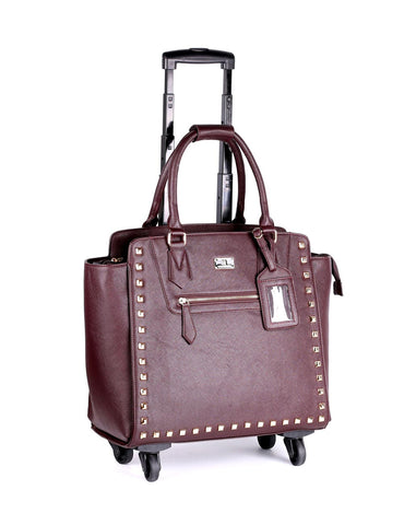 Women's RFID Professional & Travel Spinner Trolley